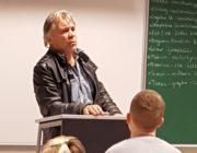 Einar Kárason í heimsókn